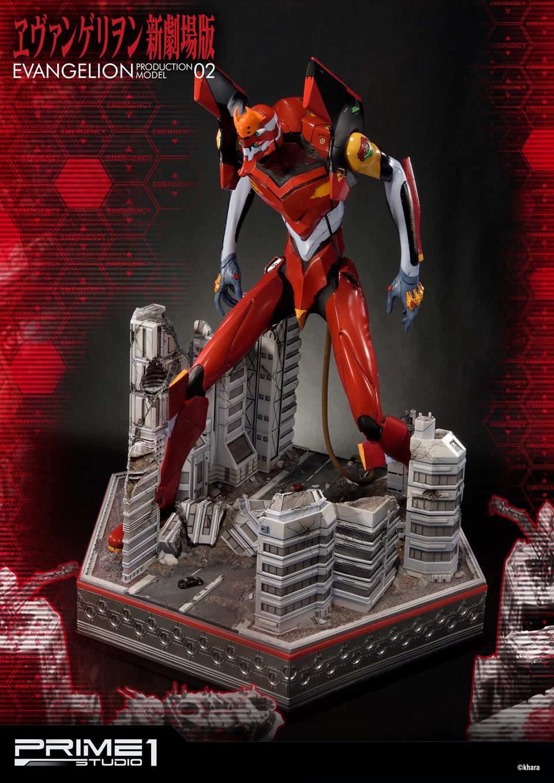 Prime 1 Neon Genesis Evangelion EVA-02 Diorama