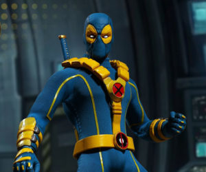 Mezco One:12 Collective X-Men Deadpool Action Figure