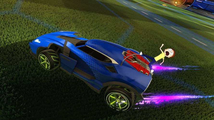 Rick and Morty Coming to Rocket League