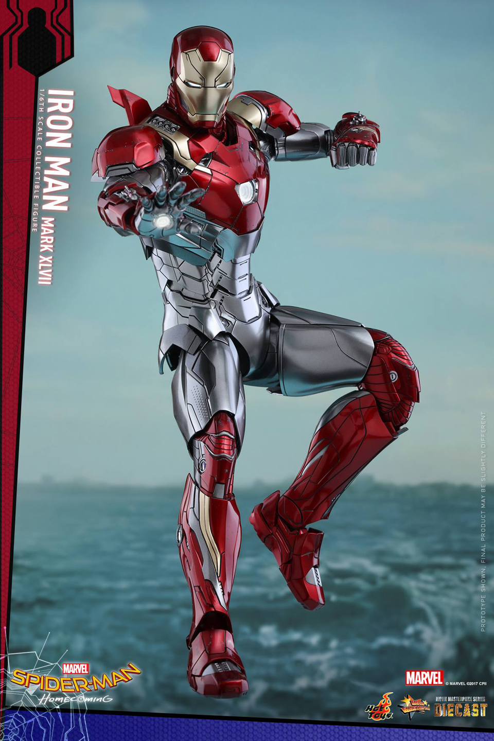 Hot Toys Spider-Man: Homecoming Iron Man Mark XLVII Action Figure