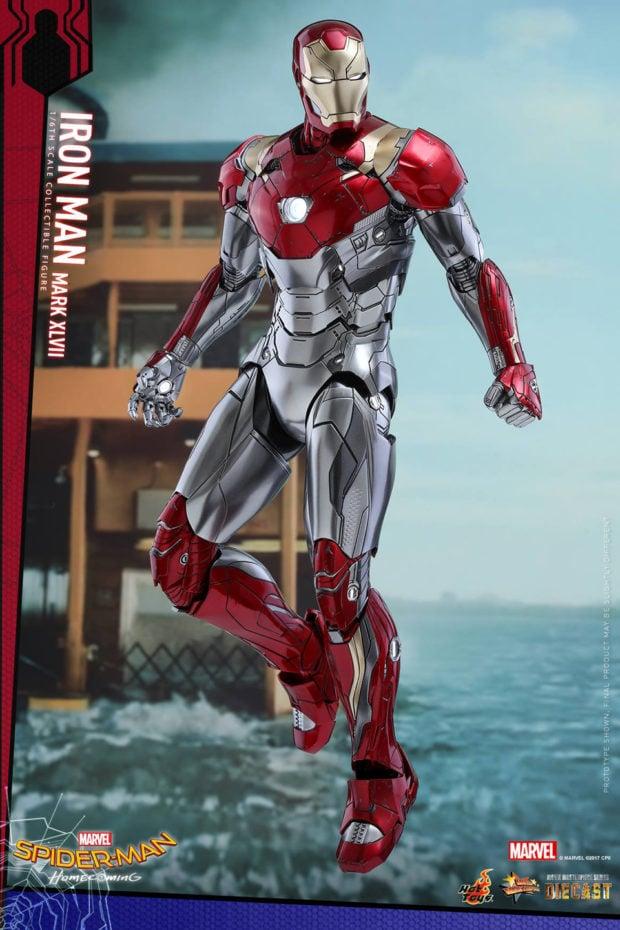 Hot Toys Spider-Man: Homecoming Iron Man Mark XLVII Action