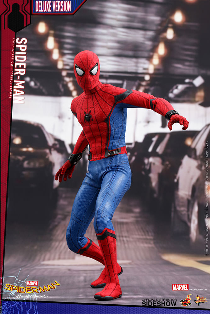 Homecoming Spider Man Toys : Hot toys spider man homecoming scale action figure