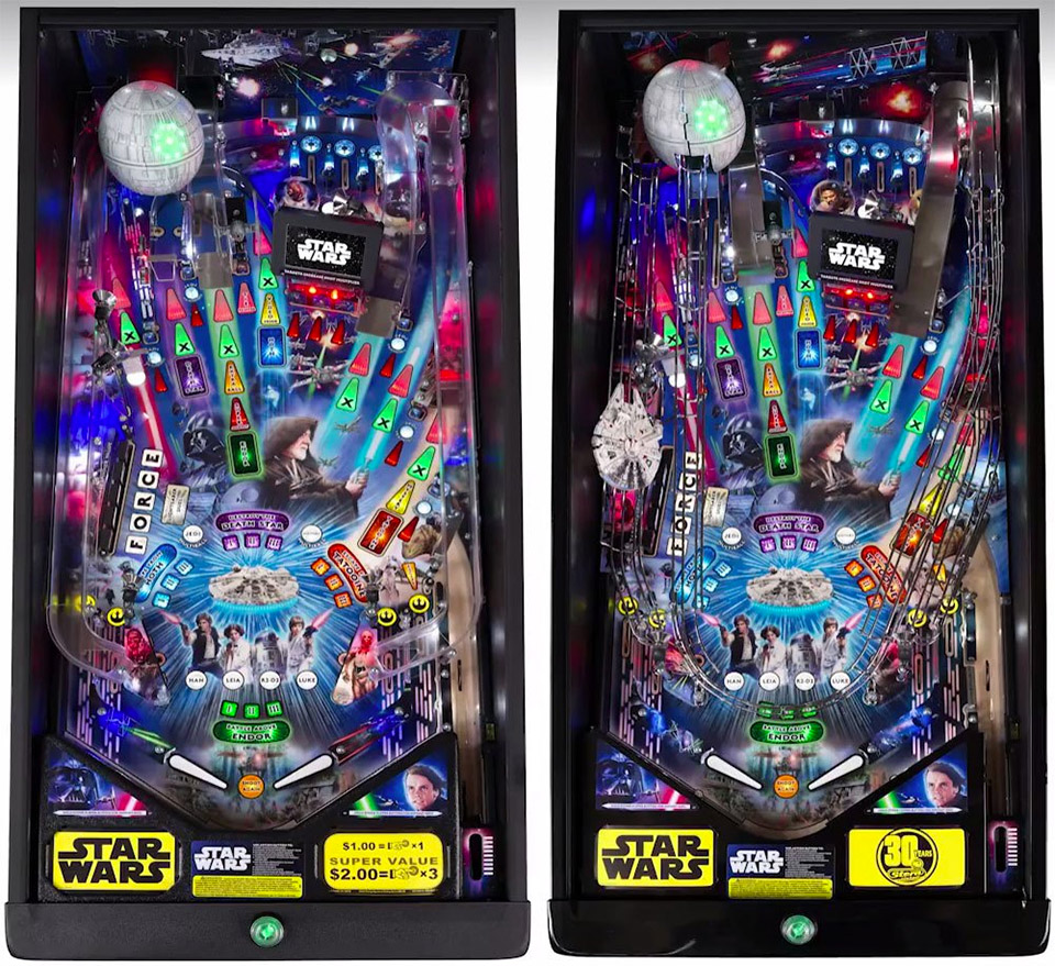Star Wars – Data East (1992) [VPX] – VPINBALL.COM