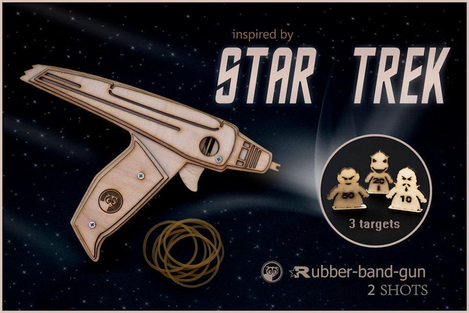 Star Trek Phaser Rubber Band Gun
