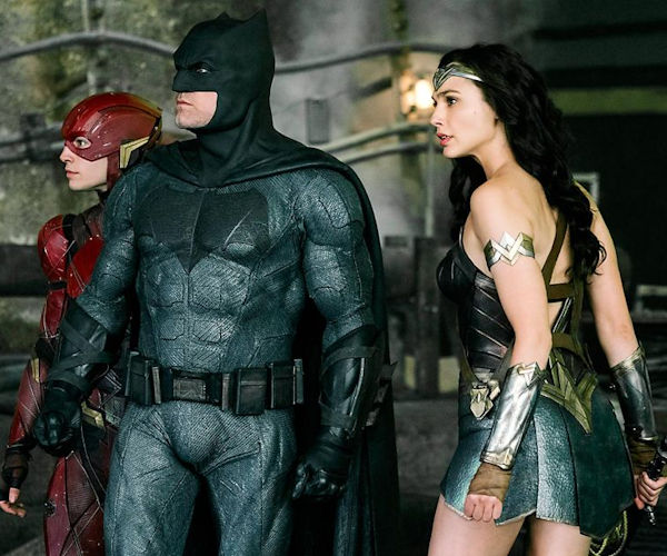 Justice League Photo Shows Batman, Wonder Woman, and The Flash