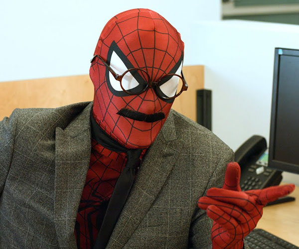 John Spiderman Does Whatever an Accountant Can