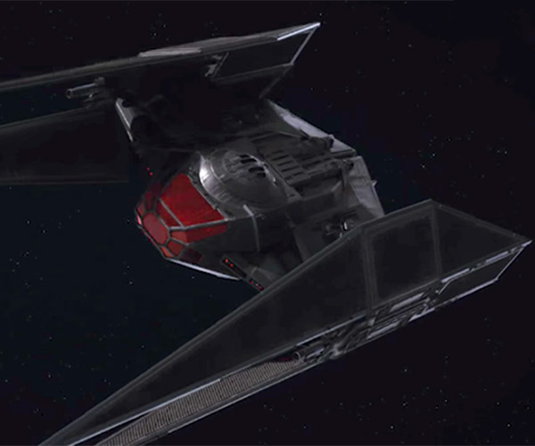 Here's Kylo Ren's New TIE Fighter: The TIE Silencer