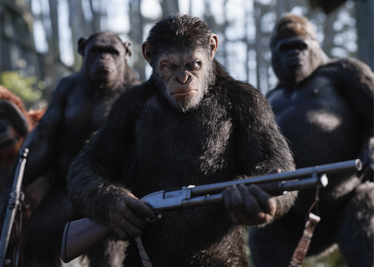 Behind the Sounds of War for the Planet of the Apes