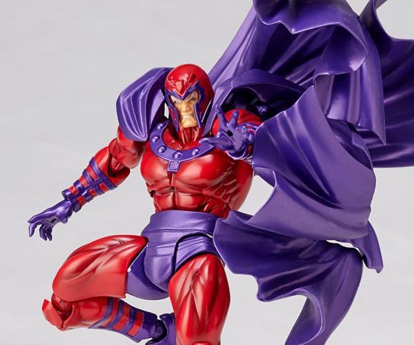 Revoltech Amazing Yamaguchi Magneto 1/12 Scale Action Figure