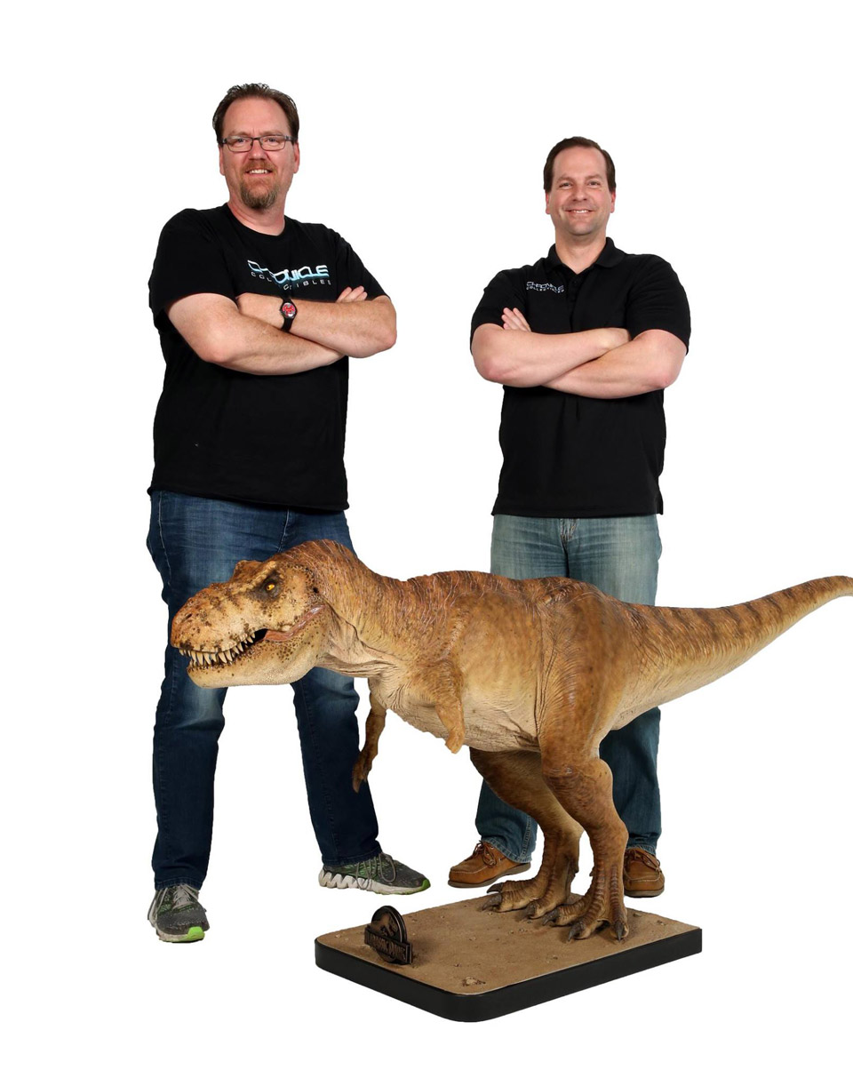 Chronicle Collectibles Jurassic Park 1/5 Scale Female T-Rex Statue