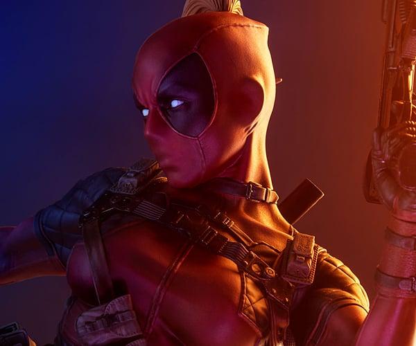 Sideshow Lady Deadpool Premium Format Figure
