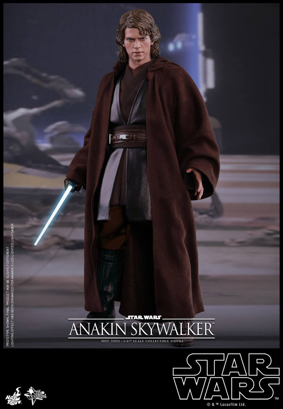 Hot Toys Star Wars Ep. III Anakin Skywalker 1/6 Scale Action Figure