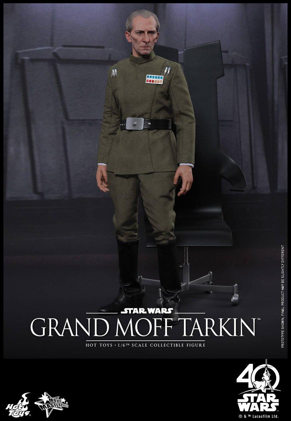 Hot Toys Star Wars Grand Moff Tarkin 1/6 Scale Action Figure