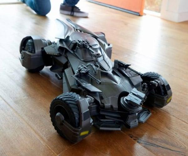 Mattel Ultimate Justice League Batmobile RC Toy