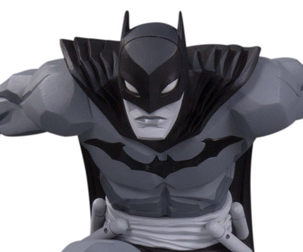 DC Collectibles Batman Black and White Statue By Jonathan Matthews