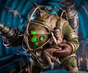 Threezero BioShock Big Daddy & Little Sister Action Figures