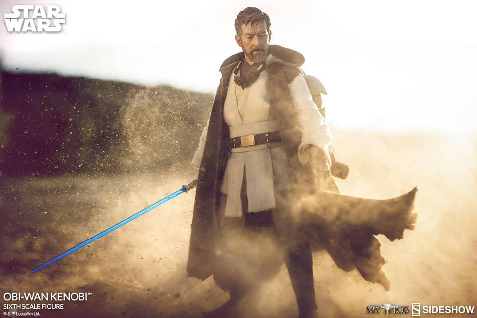 Sideshow Star Wars Mythos Obi-Wan Kenobi 1/6 Scale Action Figure