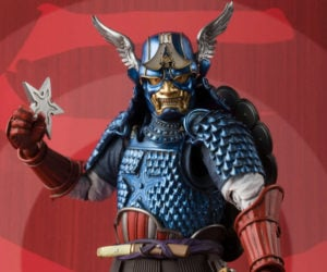Manga Realization Samurai Captain America 1/12 Scale Action Figure