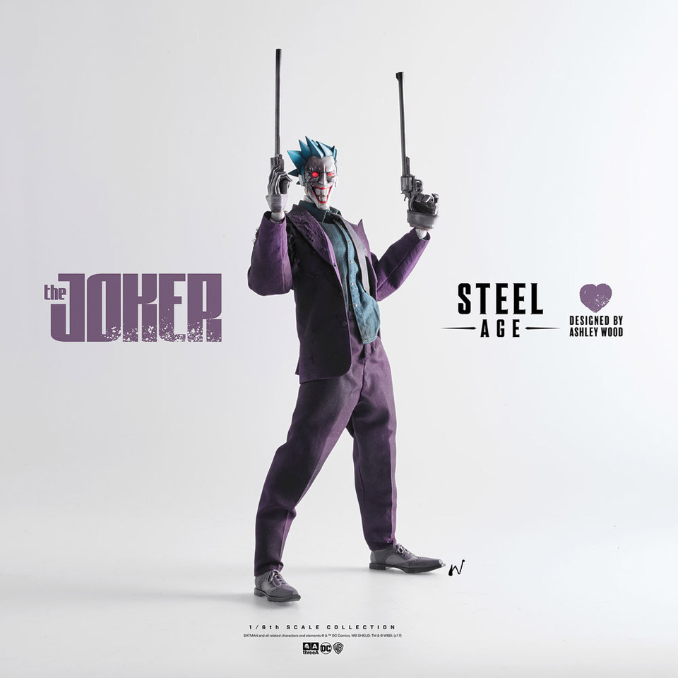 3A Toys Steel Age Joker 1/6 Scale Action Figure