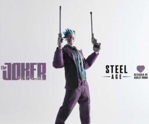 3A Toys Steel Age Joker 1/6 Scale Action Figure