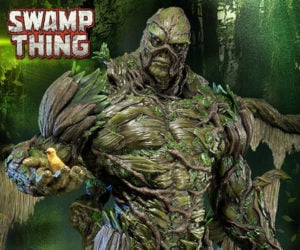 Prime 1 Swamp Thing Statue